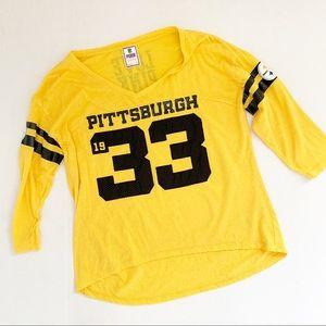 Pink Victoria's Secret Pittsburgh Steelers Top